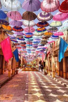 Le bazar de Mechhed en Iran