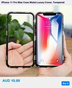 iPhone 11 Pro Max Case Metal Luxury Cover, Tempered Glass for Apple * Pub Date: 07:13 Oct 20 2019 Cracked Phone Screen, Iphone Cases Bling, Compare Phones, Best Mobile Phone, Mobile Phones, Newest Cell Phones, Iphone Models, Iphone 7 Plus, Magnets