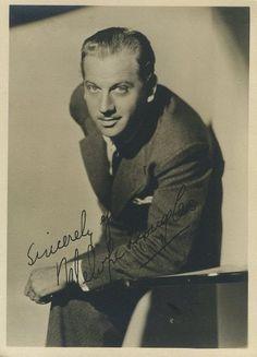 Melvyn Douglas 1930s 5x7 Fan Photo - Click to shop Fan Photos in the Immortal Ephemera Store