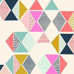 triangle pattern design by susan driscoll.