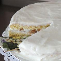 Eskilerden kalan özlenen gerçek pasta lezzeti. Bu muzlu yaş pasta tarifi çok farklı! nasıl mı? Fotoğraflarla detaylandırdığımız tarifi inceleyin... Pudding Cake, Vanilla Cake, Camembert Cheese, Cake Recipes, Bakery, Tart, Rolls, Desserts, Food