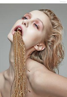 FGR Exclusive   Anastasiya Kolbasko by Danil Golovkin in Addicted to Glamour MUA Elena Zubareva
