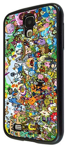 Samsung Galaxy S4 I9500 / i9505 Cool Funky adventure time Cartoon Funny Design Fashion Trend Case Ba @ niftywarehouse.com