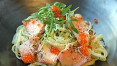 Foto: Tone Rieber-Mohn / NRK Fish And Seafood, Wine Recipes, Food Inspiration, Risotto, Nom Nom, Main Dishes, Spaghetti, Food And Drink, Pasta