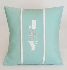 Joy Indoor/Outdoor Sunbrella Pillow