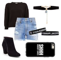 """""""grungey"""" by brikid ❤ liked on Polyvore featuring Yves Saint Laurent, R13, BCBGeneration, Accessorize and Casetify"""