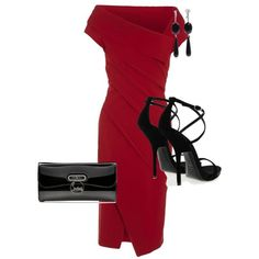 """Sexy Valentine's Outfit"" by littleriles on Polyvore"
