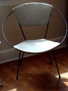 Vintage Mid Century Modern Circle Chair By Fleaosophy On Etsy, $525.00