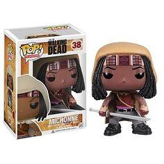 Walking Dead Michonne Pop! Vinyl Figure. I have one!!! http://tophatter.com/auctions/22737