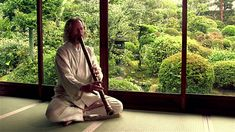 Seijaku Stillness - Composed and performed by Adrian Freedman A poetic study of sound and silence in the stillness of a Japanese temple garden, with gentle r. Shakuhachi Flute, Temple Gardens, Japanese Temple, Japanese Bamboo, Meditation Music, Flutes, Videos, Youtube, Musica