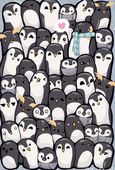 Cute designs of D Penguin Wallpaper oviyahdwallpaper Penguin Art, Penguin Love, Cute Penguins, Animals And Pets, Baby Animals, Cute Animals, Animes Wallpapers, Funny Wallpapers, Winter Wallpapers