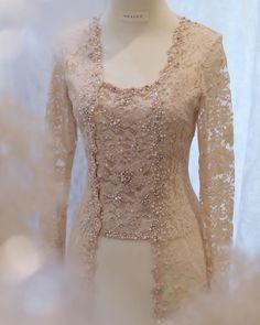 Kebaya Modern Hijab, Model Kebaya Modern, Kebaya Hijab, Model Kebaya Muslim, Kebaya Lace, Kebaya Dress, Model Dress Batik, Batik Dress, Wedding Hijab Styles