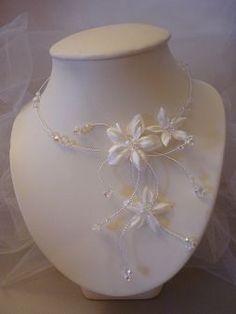collier de mariée, collier de mariage, bijoux mariage, bijoux mariée, www.lolaframboise.com