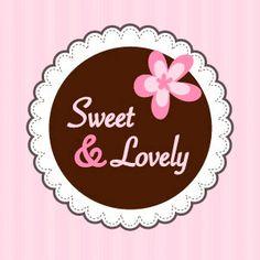 Logo de Sweet & Lovely  #logo #logotipo #diseño #pasteles #pasteleria #cupcakes #muffins #fondant #design  Made in Idearium 3.0 Cafe Logo, Bakery Logo, Logo Dulce, Label Design, Logo Design, Baking With Kids, Daisy, Business Design, Banner Design