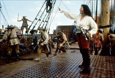 Cutthroat Island - geena-davis  Beautiful, strong, & loves adventure!. What's not to love? ~ Yep, but the world was not yet ready for a kick @$$ lady lead.  Geena, before your time, Madame!! <3