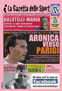 La COPERTINA DEL 06.11.2012