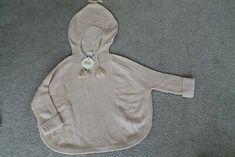 M Mud Pie Lurex Sweater Knit Poncho