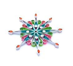 Quilled-Star-Ornament