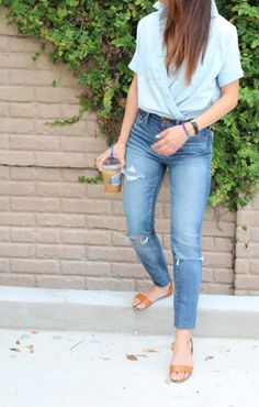 Style: A Twist on Double Denim