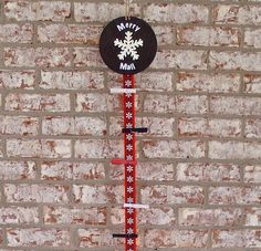 Merry Mail Decorative Hanging Christmas by PurplePirateStudios