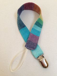Wrap scrap Pacifier Clip -- These work great for wubba nub's. Just wrap it around the animals neck!!