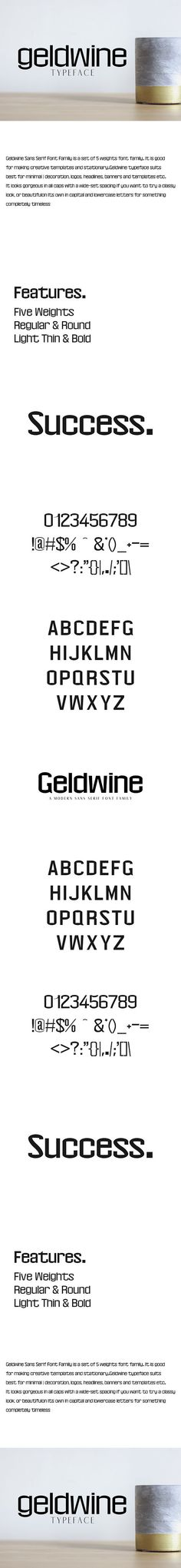 Geldwine Sans Serif Font Family is a outstanding modern sans serif font family. It is good for making creative templates and Typewriter Fonts, Modern Sans Serif Fonts, Minimal Decor, Punctuation, Font Family, How To Look Classy, Lower Case Letters, Things To Come, Minimalist Decor