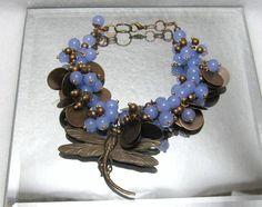 Dragonfly Heaven - Jewelry creation by Linda Foust
