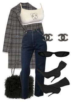 """Sans titre #3566"" by mstfscxrus ❤ liked on Polyvore featuring Chanel and Balenciaga"