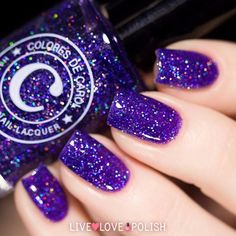 """Colores de Carol 'Mystery' is back in stock!  Get it on LiveLovePolish.com - shop link in bio """
