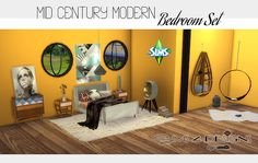 Sims 4 CC's - The Best: Bedroom Set by Sims 4 Designs