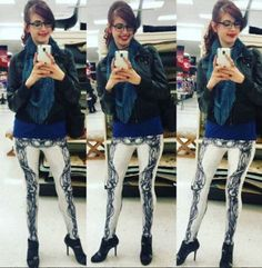 """""""I was so stoked when I got my leggings I love the way they feel!!"""" -Amy P."""