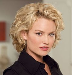 short curly hairdo - Google Search
