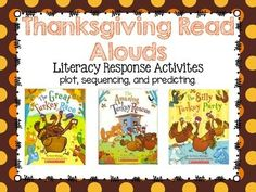 FREE Thanksgiving Read Alouds {Response Activities}