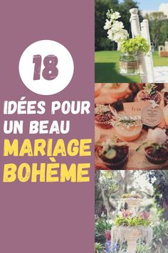 #mariage #deco #boheme Wedding Decorations, Bouquet, Deco Boheme, Birthdays, Bunch Of Flowers, Wedding Decor, Bouquets