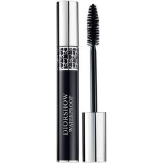 Dior Diorshow Waterproof Mascara (86 BRL) ❤ liked on Polyvore featuring beauty products, makeup, eye makeup, mascara, azure blue, christian dior, thickening mascara and christian dior mascara