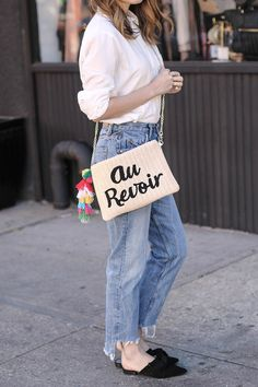 d9b9ce1d96 ... been the cool French girl that everyone is writing about in their  fashion articles. I would ve worn mom jeans