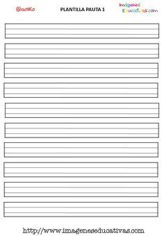 pautas fotocopiables para trabajar la escritura 4 animal worksheets printable lined paper