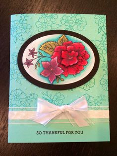 Thankful for you- with hostess set I like you 2014, by Jade Boteler