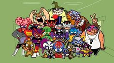 very funny to me. 2000s Cartoons, Best Cartoons Ever, Cool Cartoons, Childhood Tv Shows, Childhood Memories, Alvin And The Chipmunks, Mexican American, Animation Series, Movies Showing