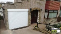 With an electric roller door, you can enter your garage in style. Click the link to see our electric remote-controlled roller shutter garage doors! We have 21 different colours or roller doors for sale available. White Garage Doors, Electric Garage Doors, Electric Gates, Roller Doors, Roller Shutters, Electric Rollers, Driveway Entrance, Shutter Doors, White Gardens