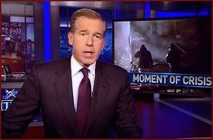 Lies on lies: Williams, pictured above during his last Nightly News broadcast before being suspended, embellished at least 11 different reports, an internal investigation has reportedly found Brian Williams, Nbc Nightly News, Jimmy Fallon, Investigations, Celebrity News, Gossip, Anchor, Seal, Relationship