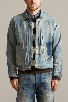 TRIPLE PLEAT blouse | Vintage Clothing Levi