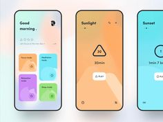 Meditation APP 🧘♂️ by Dragon Lee for Orizon on Dribbble Web Design, App Ui Design, Interface Design, Flat Design, Template Web, Menu Templates, Meditation Apps, Arduino Projects, Diy Projects