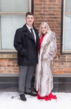 Fox Fur, Cute Couples, Fur Coat, Engagement, Suits, Elegant, Jackets, Photography, Collection