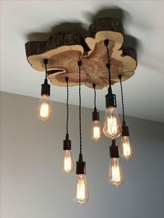 Custom Made Custom Lighting Chandeliers, Pendants. Rustic, Industrial, Farmhouse... - #Chandeliers #Custom #Farmhouse #Industrial #lighting #pendants #Rustic