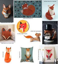 Feeling foxy? Check out our pick of the best Fox themed interiors on www.groomedandglossy.com