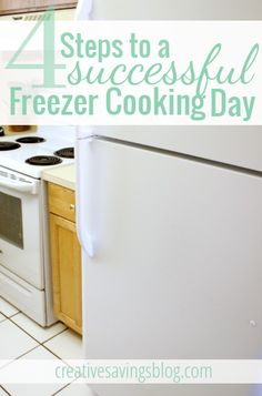 4 Steps to a Successful Freezer Cooking Day | Creative Savings