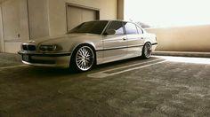 BMW e38 740iL, my baby. Mine 2; was '93, PRISTINE. / Dallas '98