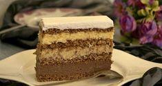 Torta sa orasima i plazma keksom — Domaći Recepti Torte Recepti, Kolaci I Torte, Cake Cookies, Vanilla Cake, Tiramisu, Cake Recipes, Sweets, Chocolate, Cooking