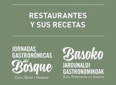 Recetas de caza y setas de las Jornadas Gastronómicas del Bosque